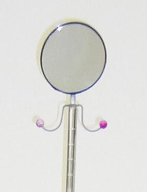 ドレススタンドミラー付き携帯ドレスハンガー(ミラー部分)